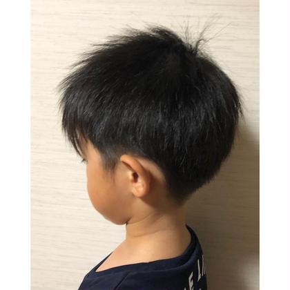 萩原幸江のキッズヘアスタイル・髪型