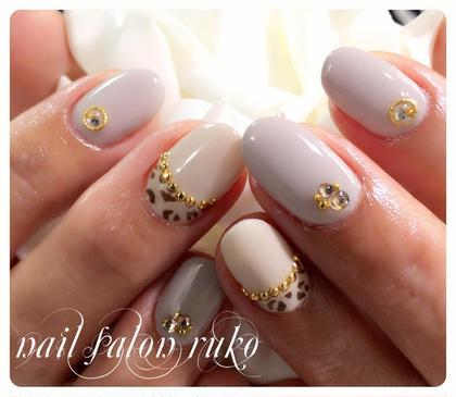 レオパード ¥6500 minimo価格 ruko+ eyelash &nail 〜マツエクとネイル〜所属・Y・AKIKOのフォト