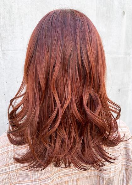 前髪カット&カラー&超音波トリートメント炭酸スパ