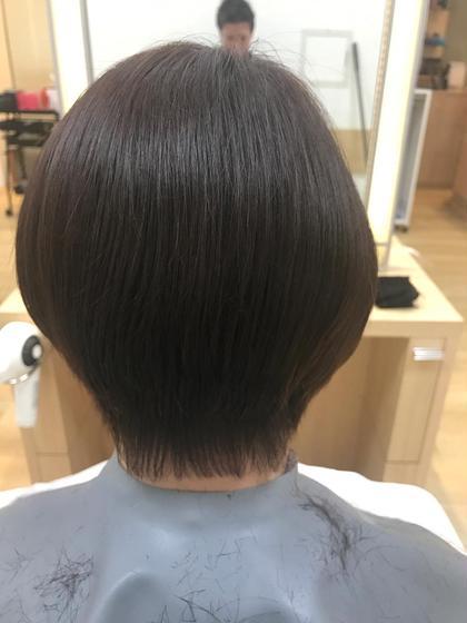 重めショートボブ Hair Make Ash所属・大山晃介のスタイル
