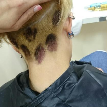 ヒョウ柄 Hair ARKS上大岡店所属・高橋えりかのスタイル