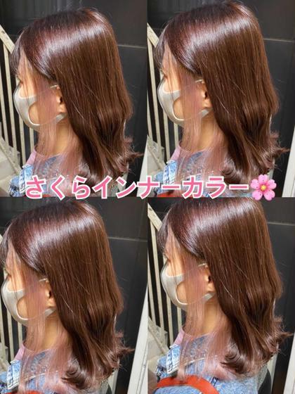 ☘️5月限定オープンキャンペーン☘️前髪カット無料フルカラー&トリートメント👍褒められ艶カラー