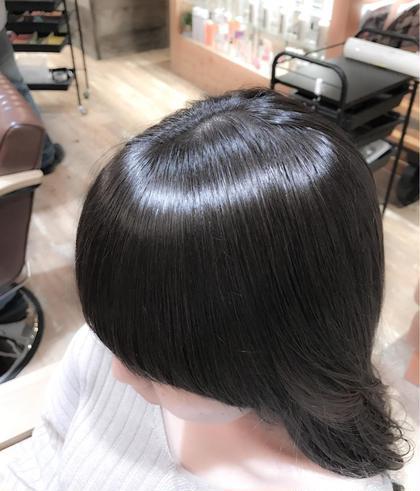 ★髪強度回復度140%★】TOKIOインカラミ縮毛矯正+カット