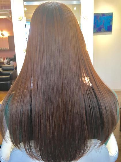 白神大介のロングのヘアスタイル