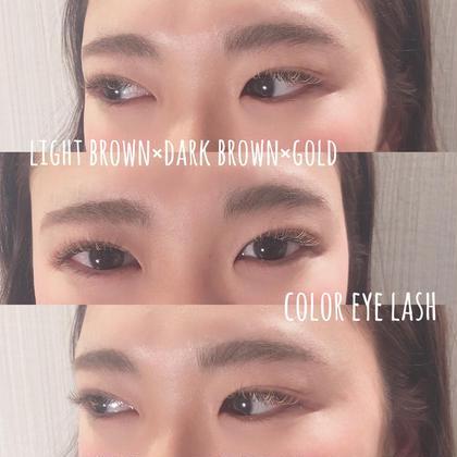 🌈color eye lash 4000円🌈