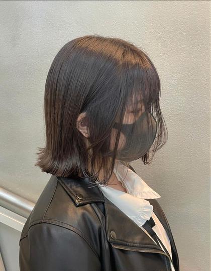 《赤みを消して透ける髪に》事前ダメージケア付き!アディクシー艶カラー+内部補修ケア+選べる髪質改善シャンプー