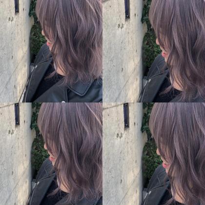 💖ブリーチ1回無料💖前髪カット✖︎ブリーチ✖︎カラー✖︎トリートメント