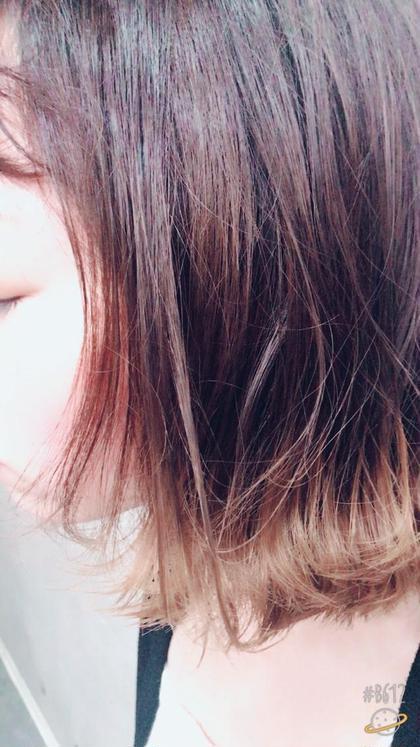 大人気!! 裾カラー♫ jena(ジェナ)所属・北野成哉のスタイル
