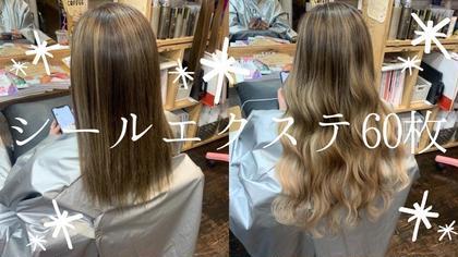 🌟最高級品質ヴァージンレミー毛✨シールエクステ1枚¥300(税込)60枚