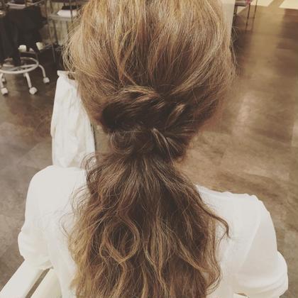 波ウエーブヘアアレンジです♡  Bloom hair所属・馬止美佳のスタイル