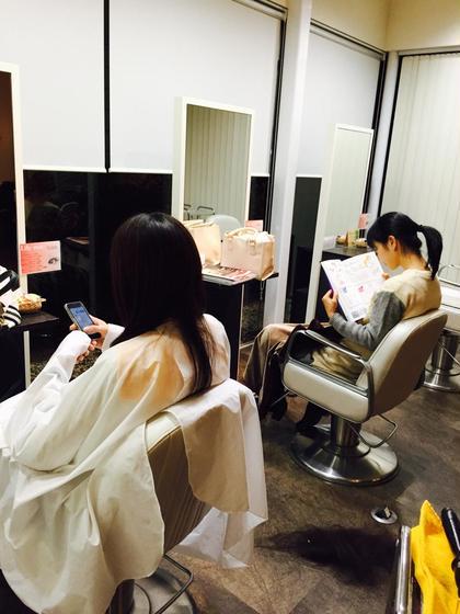 カットモデルの雰囲気です♡ 居心地の良い空間になっています♡ Bloom hairは全11席。 メインフロアとサブフロアとシャンプーフロアがあります!   Bloom hair所属・馬止美佳のスタイル