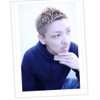 【men's人気クーポン】デザインカット+シャンプー