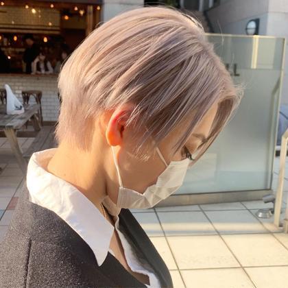 ✨学生限定✨ダメージレスにハイブリーチ✨トリプルカラー(ケアブリーチ2回)×髪質改善カラー×システムトリートメント