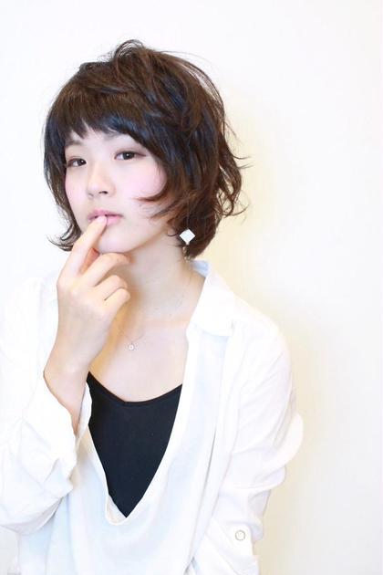 ショート  ヌーディーなスタイル REJOUIR〈リジェール〉所属・松淵博美のスタイル