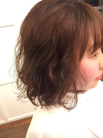 柔らかい印象に❤️❤️❤️ K♡MAKOのパーマ