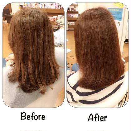 髪質改善ハーブトリートメント+カットコース
