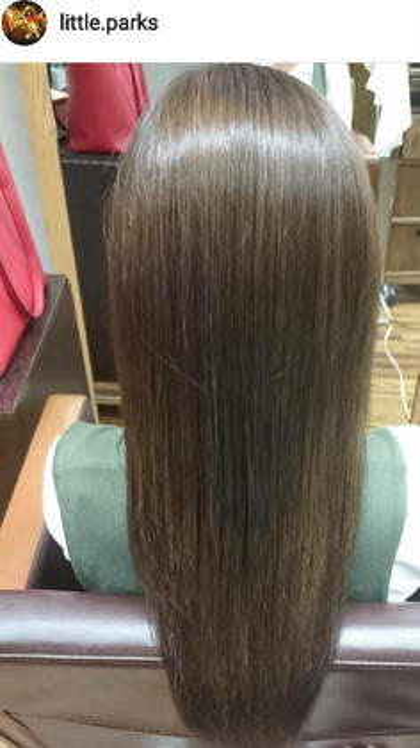 イルミナカラー&ヘッドスパで光を見方にする艶髪へ little parks所属・.SHIOのスタイル