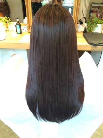悩みに合わせたトリートメント設定でツヤサラの髪にします terrace所属・成田昌記のスタイル
