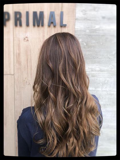 カット+カラー+パーマ+ミルボン髪質3step別トリートメント