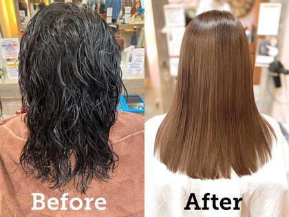 クセ毛対策☔️【本気のヘアケア❣️髪質改善👼🏻】✨話題の美髪トリートメント✨カット+髪質改善トリートメント