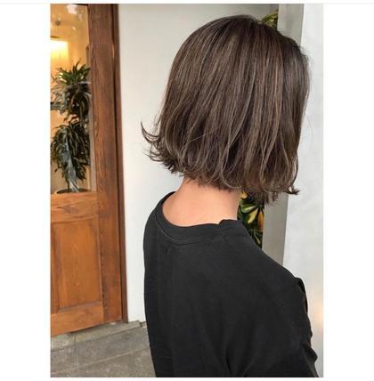 🐥 全体カラー➕前髪カット 🐥 ちょっとイメチェンしたい方、前髪がうっとおしいなあ、、て方にオススメです!♡