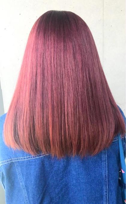 ☆透明感のあるなりたい髪色に☆ブリーチオンカラー&キラ艶トリートメント☆なりたい髪色叶えましょう(^^)