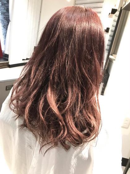 イルミナカラーでピンクベージュに☺︎✨ Hair Salon Re(ヘアサロン アールイー)所属・今村亜未のスタイル