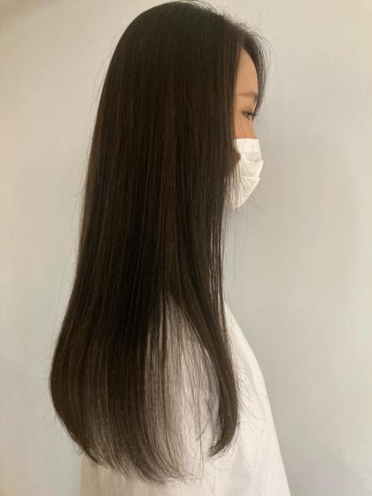 ◆うる艶コスメストレート(縮毛矯正)🧡+カット+炭酸泉Tr🌈