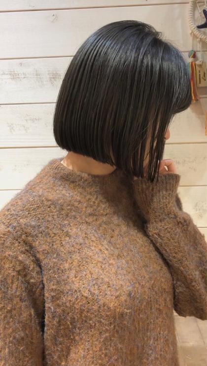 その他 カラー キッズ ショート ネイル ヘアアレンジ マツエク・マツパ 【 ブルージュカラー 】  黒髪のブルージュカラー☺️  暗くても重く見えないのが特徴でとても人気です🌟  イルミナカラーのアッシュを使ってブリーチなしで柔らかい質感と淡い色味が軽やかな雰囲気を引き出してくれますよ☺️