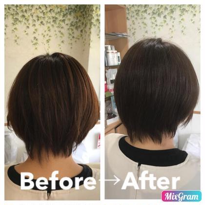 黄色味を抑えてチョコレート系のブラウンに☺︎ Hair&EstheticSalonShiny所属・熊本綾野のスタイル