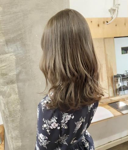 夏休み企画✨今だけ🍉映え髪💘期間限定ダブルカラー(ケアブリーチ一回+フルカラー)➕小顔カット➕マスクトリートメント
