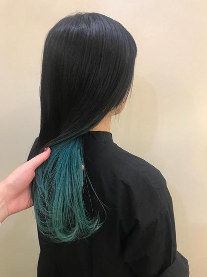 その他 カラー ロング emerald green ❤︎