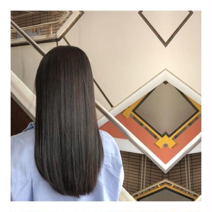 【キレイなサラサラ美髪へ💆】地毛風ストレート&カット&3stepトリートメント&炭酸ケア