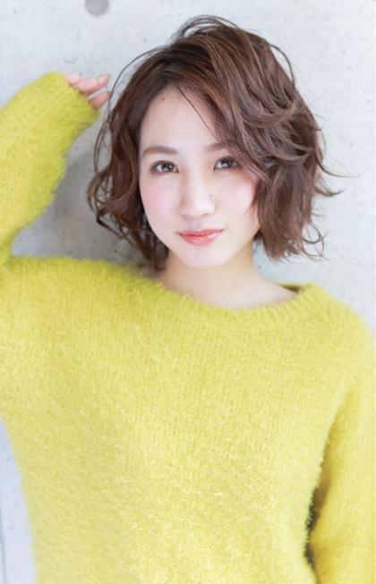 【Lafith人気No1メニュー】¥2520〜⭐️カット+艶カラー[全体][ベースTr付]