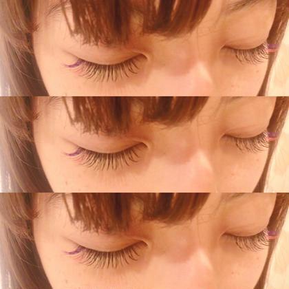 目尻カラー120本 /Black0.1mm /Cカール /fresh/ 10.11mm/violet+pink