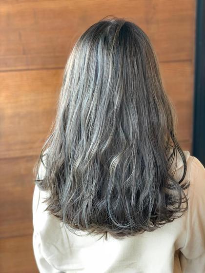 hair circle geep 千舟町店所属の原伊緒里のヘアカタログ
