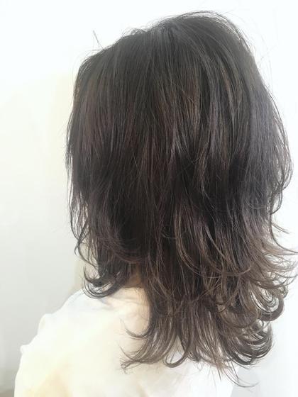 ラベンダーグレイ☆ Neolive横浜西口店所属・松尾あんなのスタイル