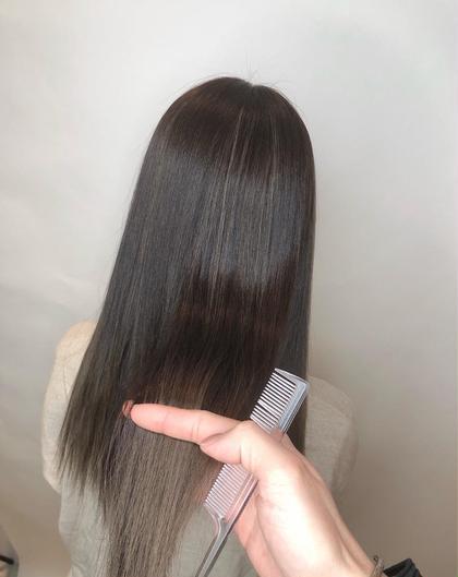 カット+髪質改善サイエンスアクア