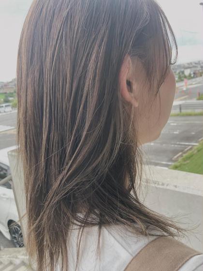 カット+HUEカラー+艶髪トリートメント