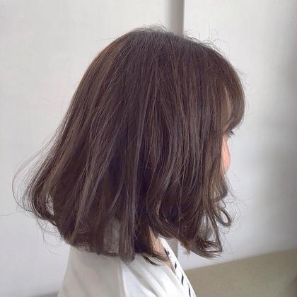 パープル系アッシュカラー×ハイライト hair&makePOSH葛西店所属・坂上岳のスタイル