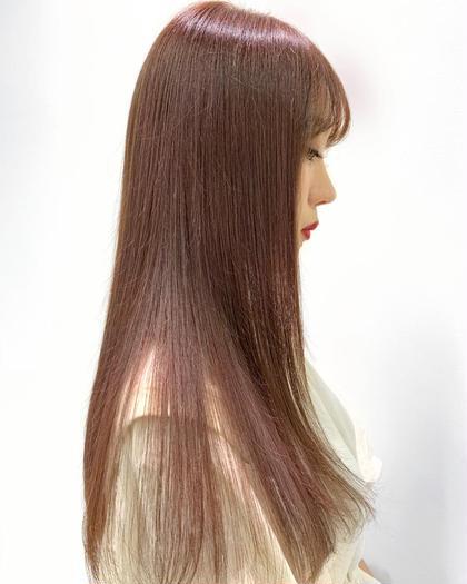 〔視界スッキリお得なメニュー!〕カラー&前髪カット&トリートメント