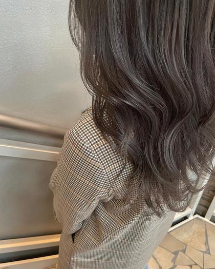 透け感たっぷりブリーチWカラー+内部補修ケア+選べる髪質改善シャンプー
