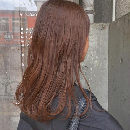 カッパーオレンジ(^○^) bleachなしで挑戦しやすい☆