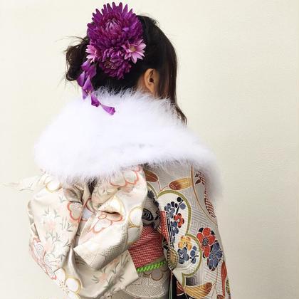 成人式のヘアセット!僕が仕上げたスタイルを喜んで頂けるって本当に嬉しいです!! Neolive terrace所属・✂︎平澤日向✂︎のスタイル