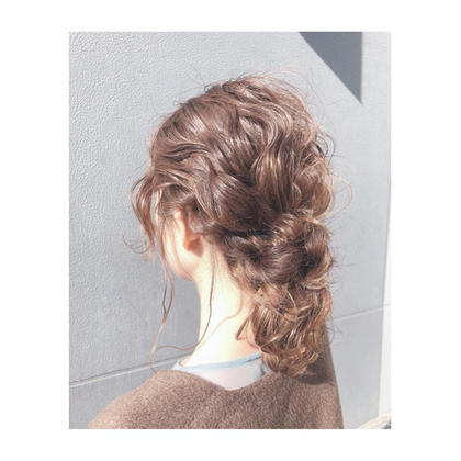 ⭐️おフェロなnatural hair arrange✨