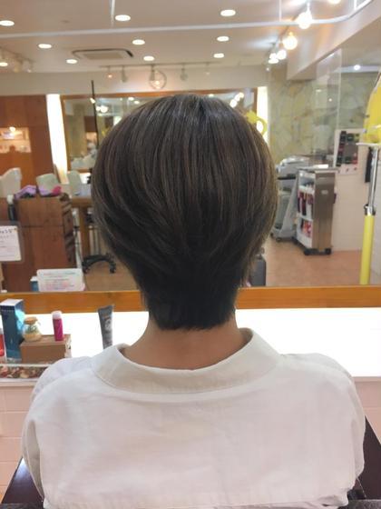 スモーキーマットアッシュ hair frais make所属・梅宮那月のスタイル