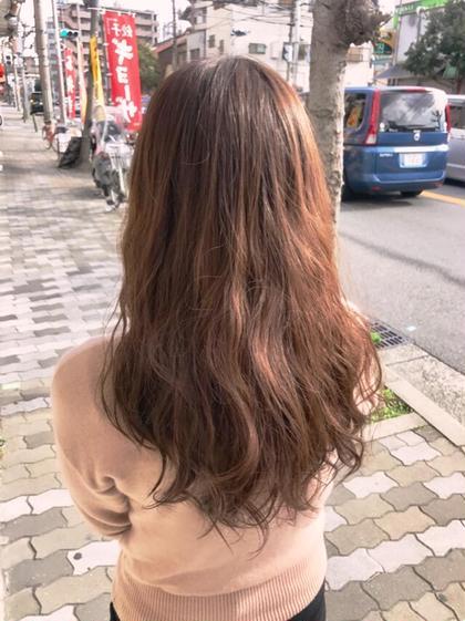 イルミナカラーのpink系❤pinkbeige✨ 赤みが好きな方にオススメの色味✨透明感のあるpink系はイルミナカラーがオススメ❗️ Glück〜hair  relaxation〜所属・directoruechiのスタイル