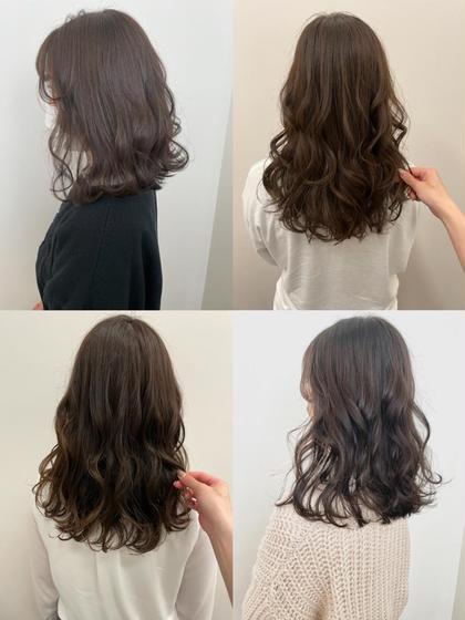 👼💖透明感を求めるリピーターさんはこれ💖👼『透明感ワンカラー+髪質改善生トリートメント+前髪カット』