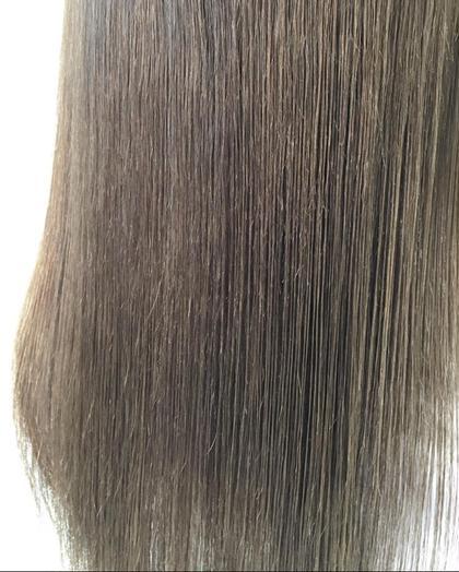 高彩度カラー ダークアッシュ  ハイダメージ毛でもワンメイクカラー Halo所属・三林稜のスタイル