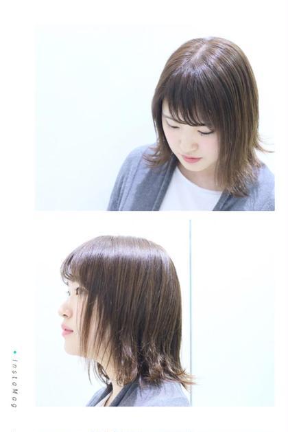 トレンドの外ハネ HAIR STUDIO JAP所属・給下麗のスタイル